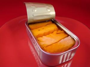 """Santa Catarina - Tuna Fillet in """"Molho Cru"""" (mediterranean sauce) inside the can"""